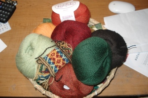 Knit Picks Palette for Autumn Rose