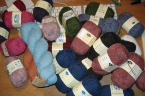 MY YARN IS HERE!!! YAY!!!
